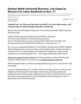 Gardner-Webb University Business, Law Expert to Discuss Fair Labor Standards on Nov. 17