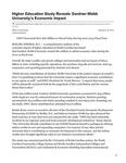 Higher Education Study Reveals Gardner-Webb University's Economic Impact