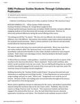 GWU Professor Guides Students Through Collaborative Publication