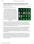 Gardner-Webb Alumna Takes Game Show for a Spin