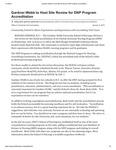 Gardner-Webb to Host Site Review for DNP Program Accreditation