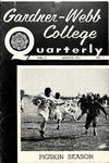Gardner-Webb College Quarterly 1954, August
