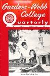 Gardner-Webb College Quarterly 1955, August by Gardner-Webb University