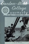 Gardner-Webb College Quarterly 1956, August