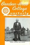 Gardner-Webb College Quarterly 1956, November by Gardner-Webb University