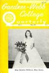 Gardner-Webb College Quarterly 1958, May