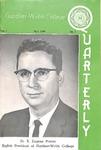 Gardner-Webb College Quarterly 1961, May