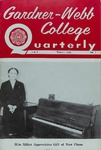 Gardner-Webb College Quarterly 1963, Winter
