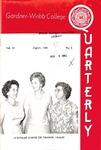 Gardner-Webb College Quarterly 1965, August by Gardner-Webb University