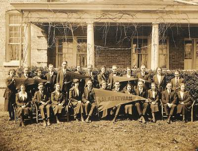 1909: Four Literary Societies are Founded at Boiling Springs High School