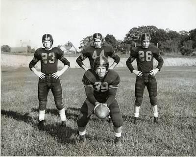 1952: Football Team Wins the Golden Isle Bowl