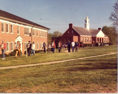 1974: John R. Dover Memorial Library is Built