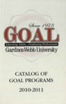2010 - 2011, Gardner-Webb University GOAL Academic Catalog