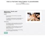 Facilitating Equitable Classrooms