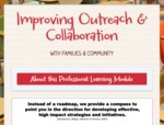 Improving Outreach & Collaboration by LaToya Bridgers, Molly Dibble, Karen Garmon, and Carrie Sharp