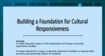 Building a Foundation for Cultural Responsiveness by Denise Cyrus, Jill Douds, and Sara Newell