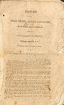 1858 Minutes of the Kings Mountain Baptist Association