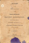 1861 Minutes of the Kings Mountain Baptist Association
