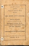 1873 Minutes of the Kings Mountain Baptist Association