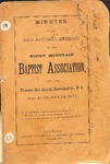 1877 Minutes of the Kings Mountain Baptist Association