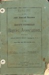 1878 Minutes of the Kings Mountain Baptist Association