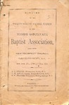 1879 Minutes of the Kings Mountain Baptist Association