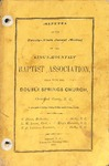 1880 Minutes of the Kings Mountain Baptist Association