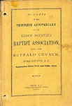 1881 Minutes of the Kings Mountain Baptist Association