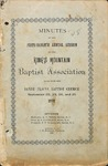 1898 Minutes of the Kings Mountain Baptist Association