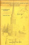 1969 Minutes of the Kings Mountain Baptist Association