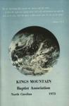 1973 Minutes of Kings Mountain Baptist Association
