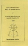 1990 Minutes of the Kings Mountain Baptist Association by Kings Mountain Baptist Association