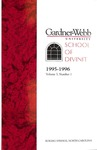 1995 - 1996, Gardner-Webb University Graduate Academic Catalog, M. Christopher White School of Divinity