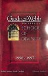 1996 - 1997, Gardner-Webb University Graduate Academic Catalog, M. Christopher White School of Divinity