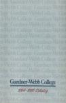 1984 - 1985, Gardner-Webb College Academic Catalog