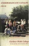 1991 - 1992, Gardner-Webb College Academic Catalog