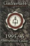 1995 - 1996, Gardner-Webb University Academic Catalog