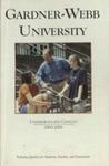 2000 - 2001, Gardner-Webb University Academic Catalog