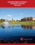 2015 - 2016, Gardner-Webb University Academic Catalog by Gardner-Webb University