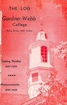 1953 - 1954, Gardner-Webb College Academic Catalog, The Log