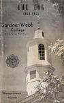 1954 - 1955, Gardner-Webb College Academic Catalog, The Log