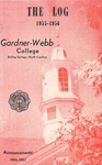 1955 - 1956, Gardner-Webb College Academic Catalog, The Log