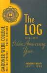 1956 - 1957, Gardner-Webb College Academic Catalog, The Log
