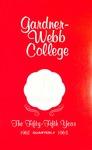 1962 - 1963, Gardner-Webb College Academic Catalog, The Quarterly