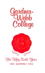 1963 - 1964, Gardner-Webb College Academic Catalog, The Quarterly