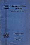 1948 - 1949, Gardner-Webb College Academic Catalog, The Log